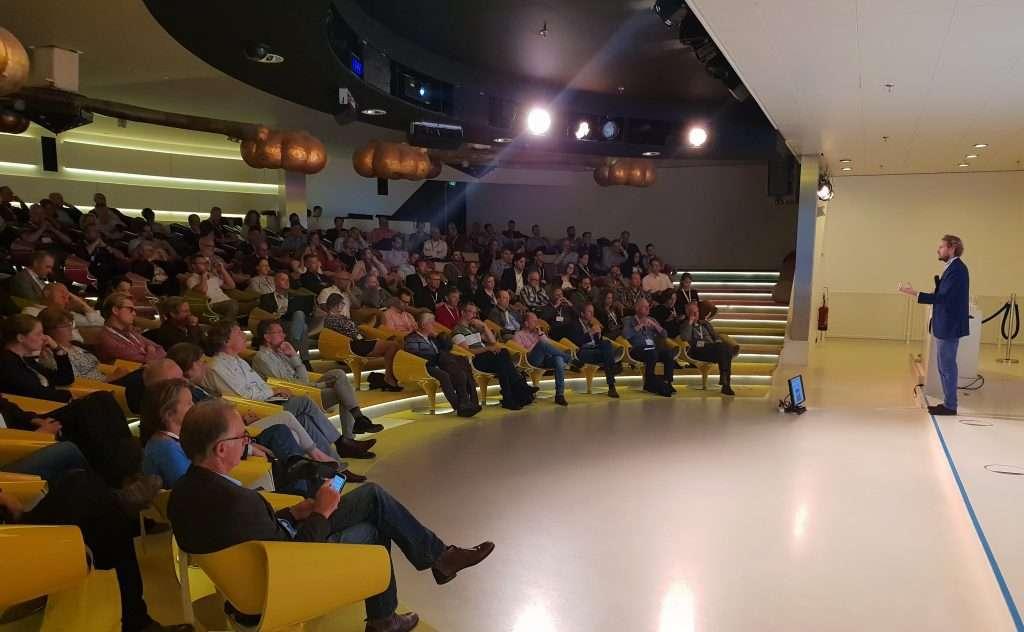 Tom Pots van Gemeente Zaanstad tijdens Overheid 360 Congres